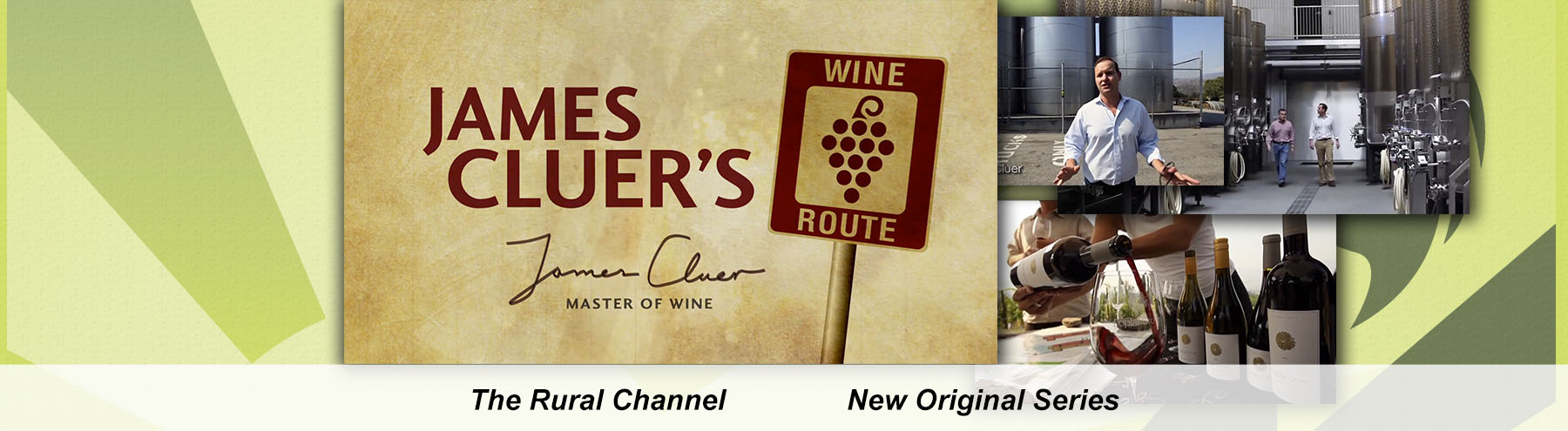 James Cluer banner