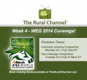 TRC Week 4 WEG Airing Times